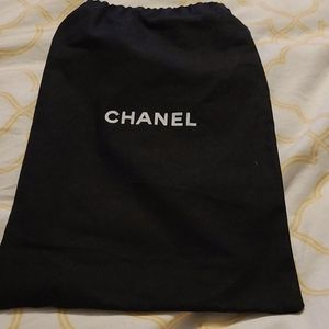 Authentic Chanel show dustbag